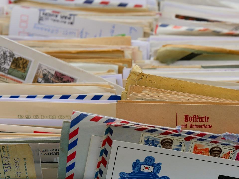 Kommunikation, Briefe, Briefumschlag, Schreiben, Grüße