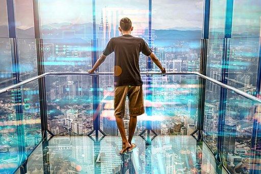 ニューヨーク市, 都市の景観, 市, 超高層ビル, ニューヨーク, 北アメリカ
