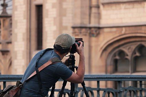 写真家, 人間, カメラ, 写真, 男, 人, 写真撮影, フォーカス