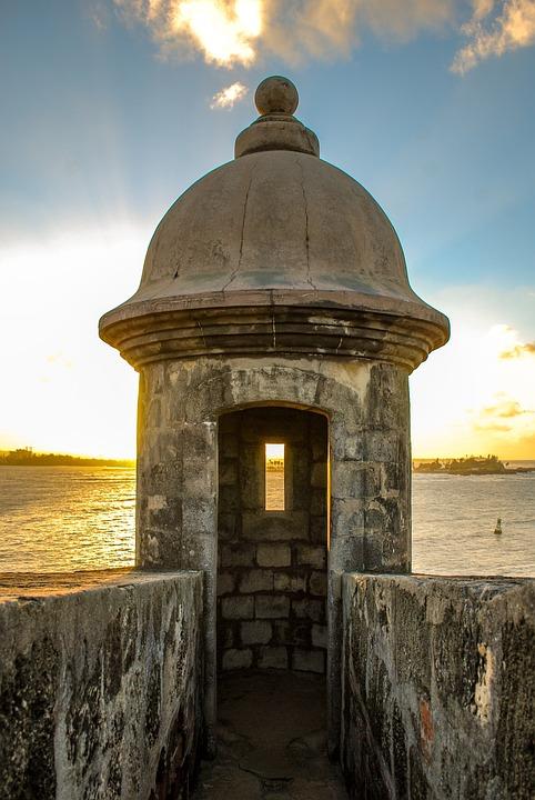 Portoryko, Zamek, Widokowa, Listy Obserwowanych, Ocean