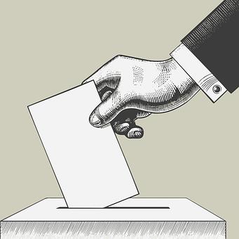 Vote, Ballot Box, Hand, Suit, Vote, Vote