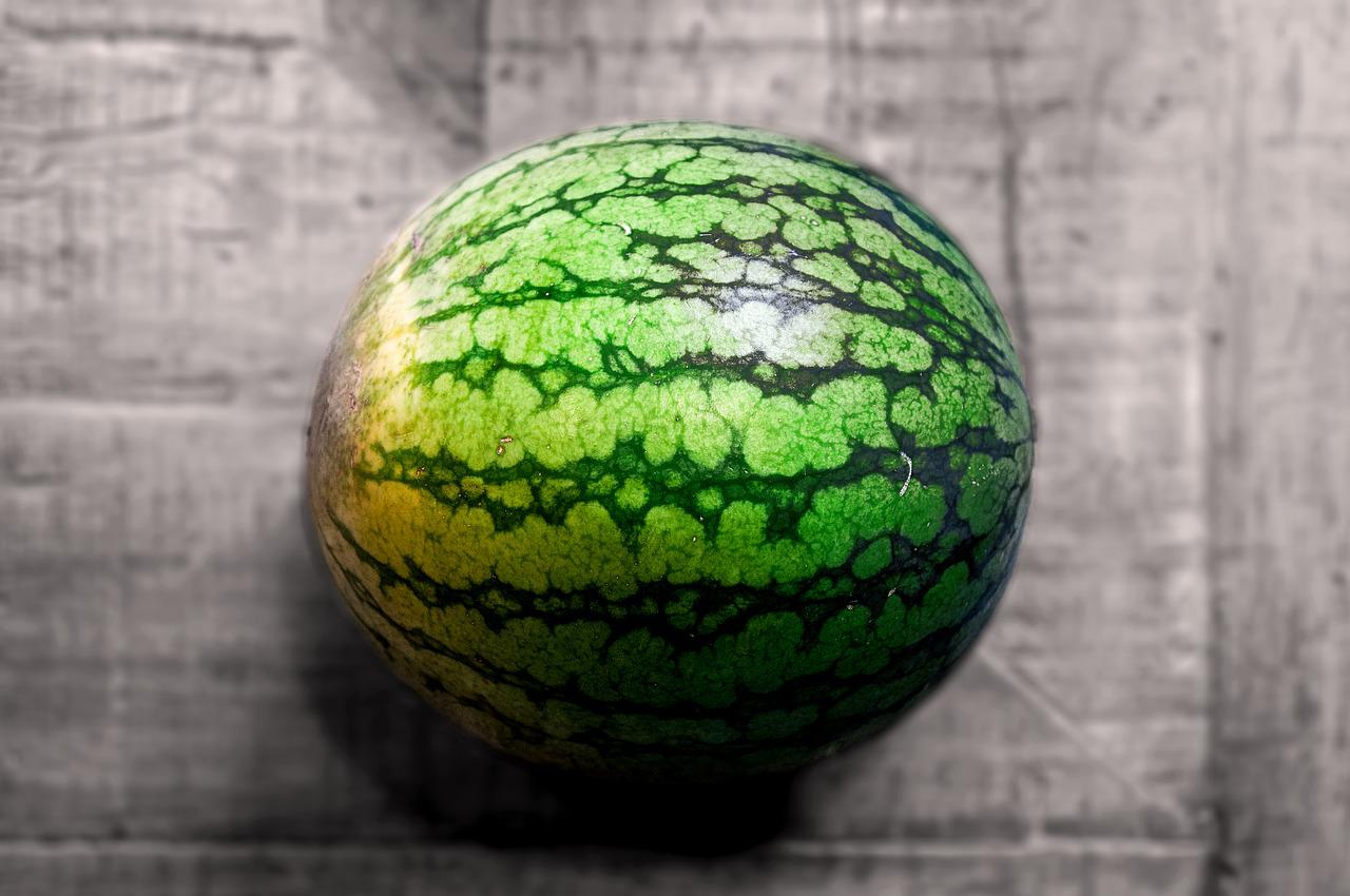 Watermelon Table Fruit Free Photo On Pixabay