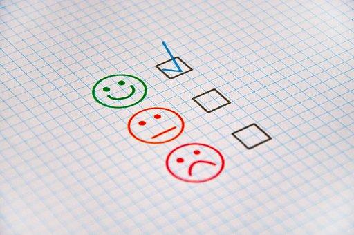 Feedback, Bewertung, Gut, Schlecht
