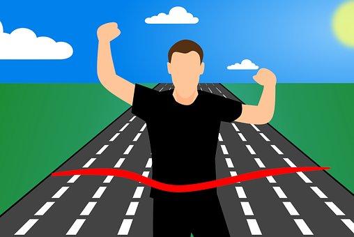 スポーツ, 運動選手, トラック, ランナー, フィールド, レース, 勝利 アインの集客マーケティングブログ