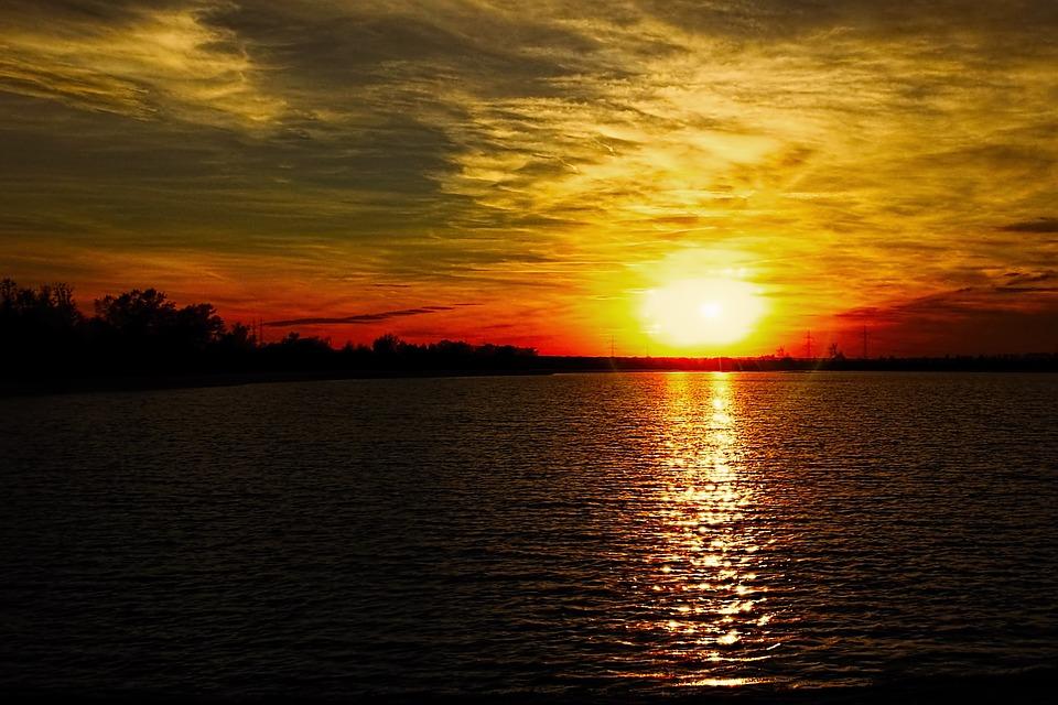 85+ Gambar Pemandangan Matahari Tenggelam