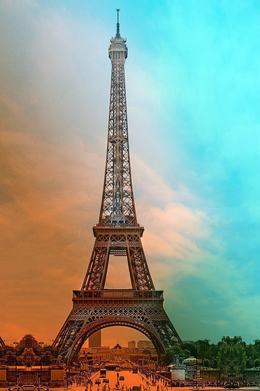 Eiffel Tower Paris France Free Photo On Pixabay
