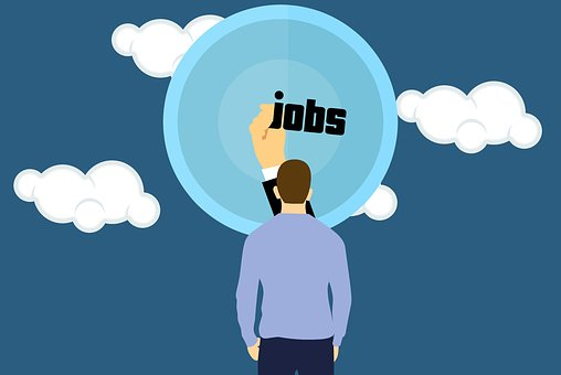 Job, Dream, Man, Seeker, Business, Cloud
