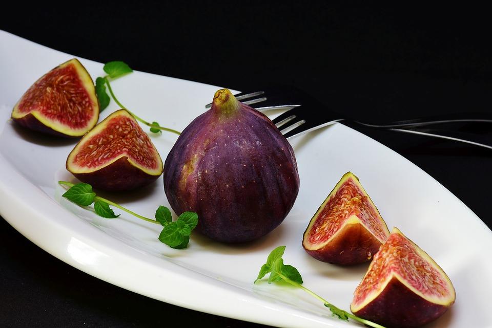 Fico, Affettato, Dessert, Frutta, Sano, Alimentari