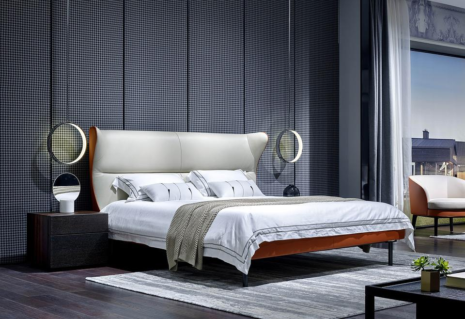 Home, Bed, Interior