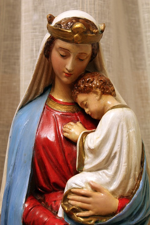 Religion Virgin Mary Madonna Baby Free Photo On Pixabay