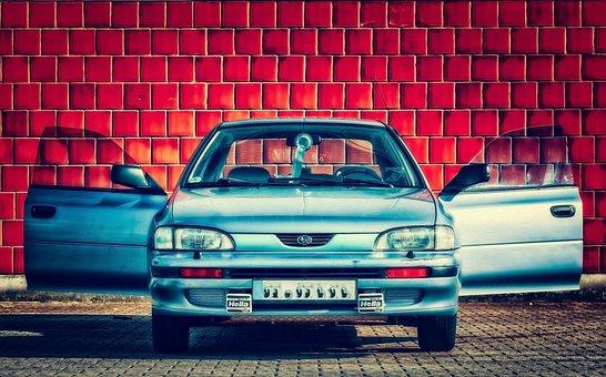 Car, Automobile, Subaru, Japanese