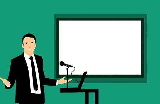 Trainer, Board, Class, Classroom, Coach