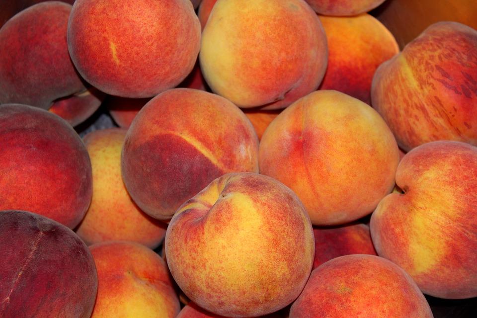 Peaches, Fruit, Mature, Food, Vitamins, Delicious