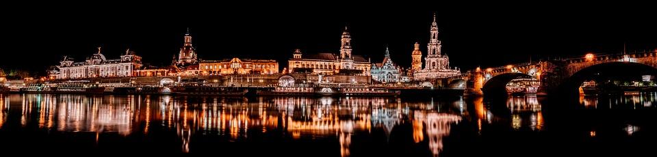 Drezno, Elbe, Historyczne Centrum, Saksonia, River