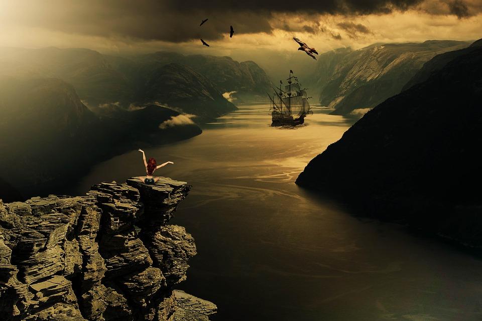 Φαντασία, Πλοίο, Κανάλι, Ουρανό, Μυστικιστική