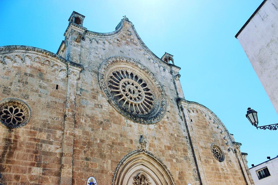 Rosone, Chiesa, Ostuni, Cattedrale, Puglia, Monumento