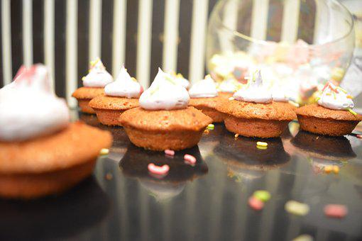 Cup Cakes, Creme Cup Cakes, Creme, Doces