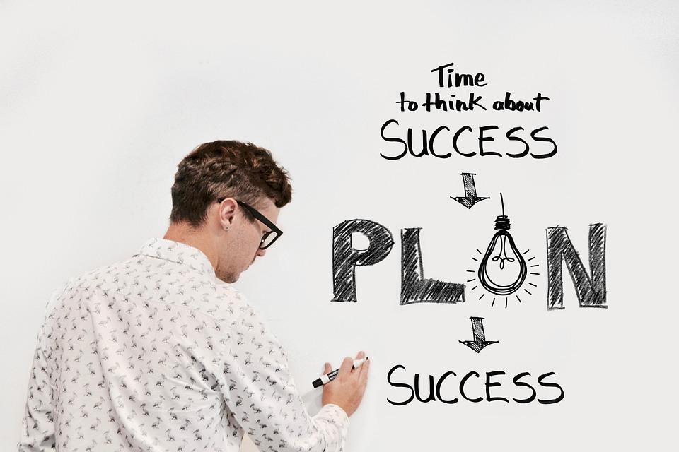 Entreprise, Plan, Affaires, Succès, Réussie, Profit