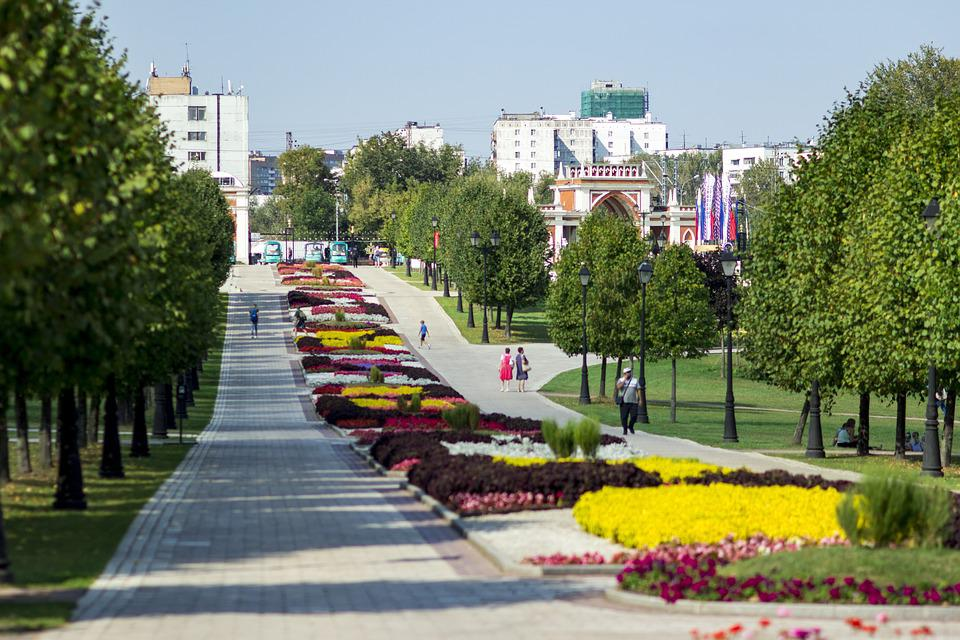 Царицыно, Парк, Сквер, Аллея, Москва, Россия, Туризм
