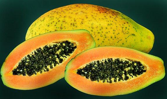 Fruit, Tropical, Red Papaya, Sweet