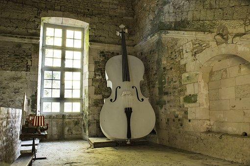 Double Bass, Music, Instrument, Plan