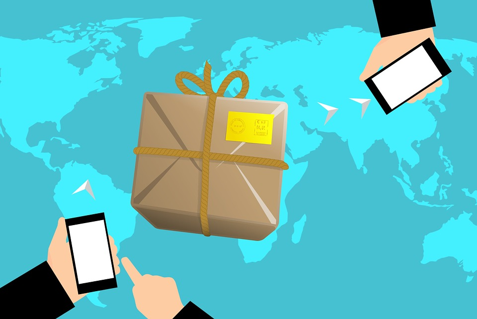 Ecommerce, Shipping, Globe, Trade, Map, Worldwide