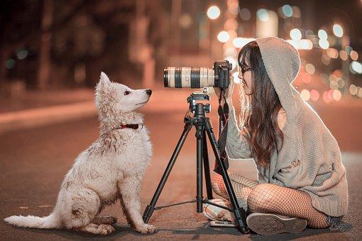 Image result for dog selfie dslr