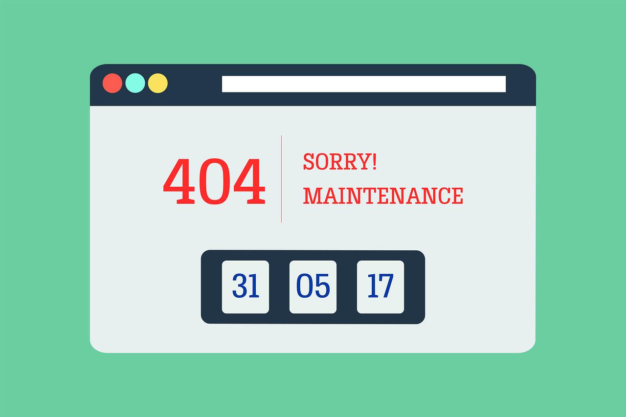 Erreur 404 Pas Trouvé - Image gratuite sur Pixabay