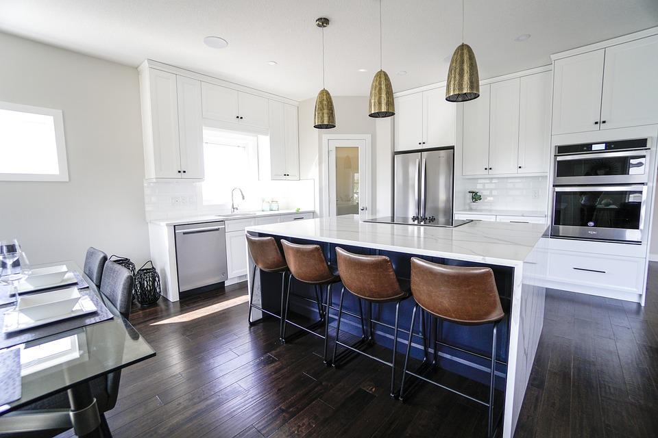 kitchen bar stools decor free photo on pixabay