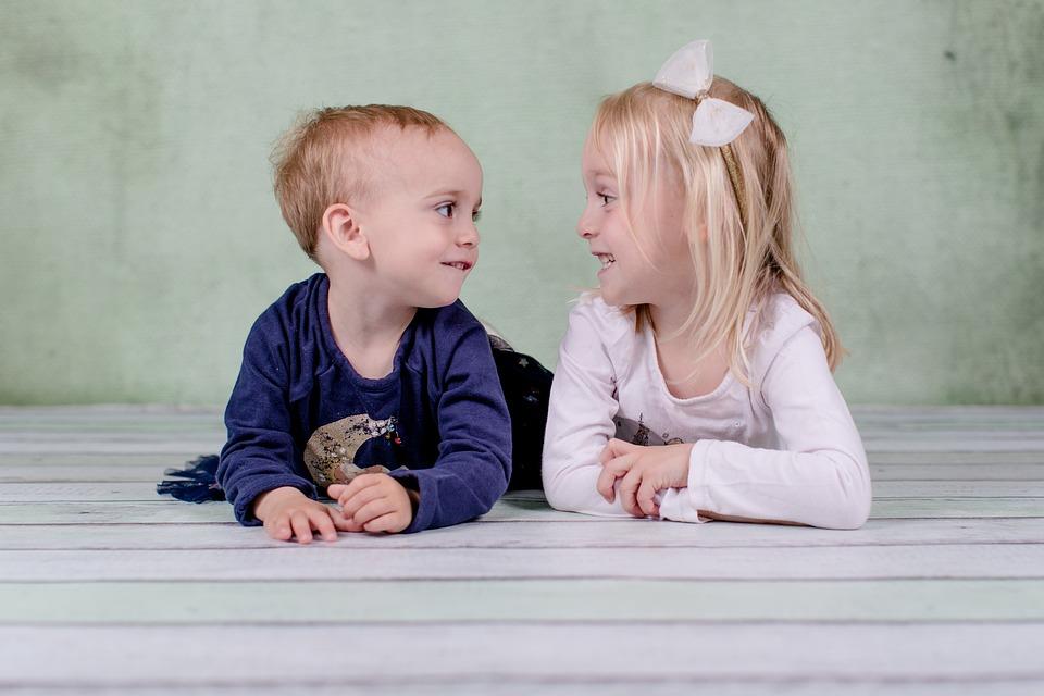 Girl, Child, Innocence, Smile, Happy, Sister, Sisters