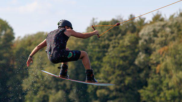 Sport, Water Sports, Wake Boarding