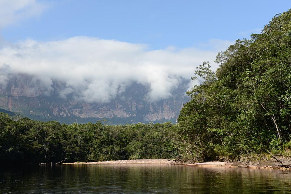 Natur Berge Venezuela Kostenloses Foto Auf Pixabay