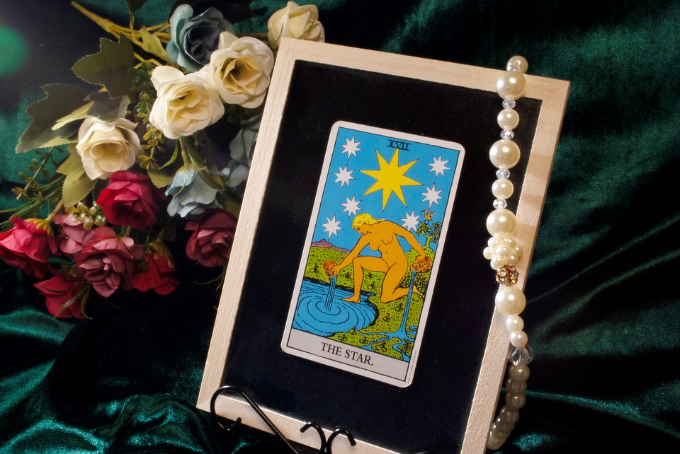 Tarot, Card, Oracre, Star, Spiritual, タロット, カード, 占い