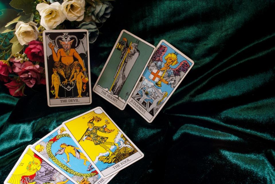 Tarot, Card, Oracre, Star, Spiritual, タロット, カード, 占い