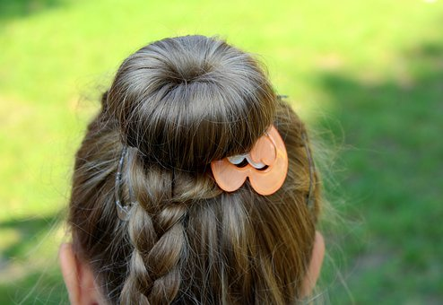 Hairstyle, Women'S Hair, Ornaments,hair growth faster