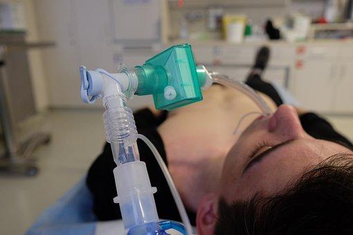 救急医療, 人工呼吸, 医療, 挿管法, 補助的な酸素供給, ショックルーム