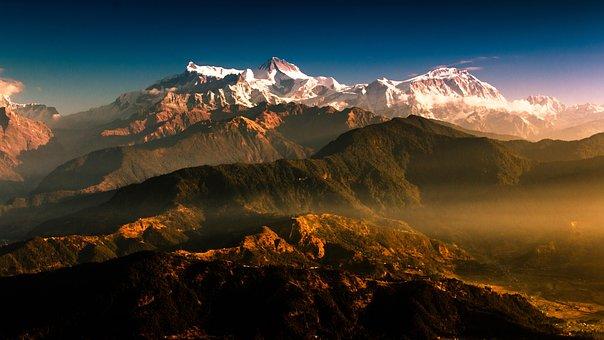 Mountain, Nepal, Travel, Nature, Outdoor