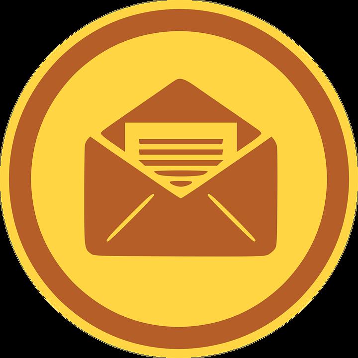 Ikon Mail Surat Gambar Vektor Gratis Di Pixabay
