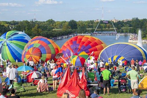 Hot Air Balloon, Balloon, Sky, Flying