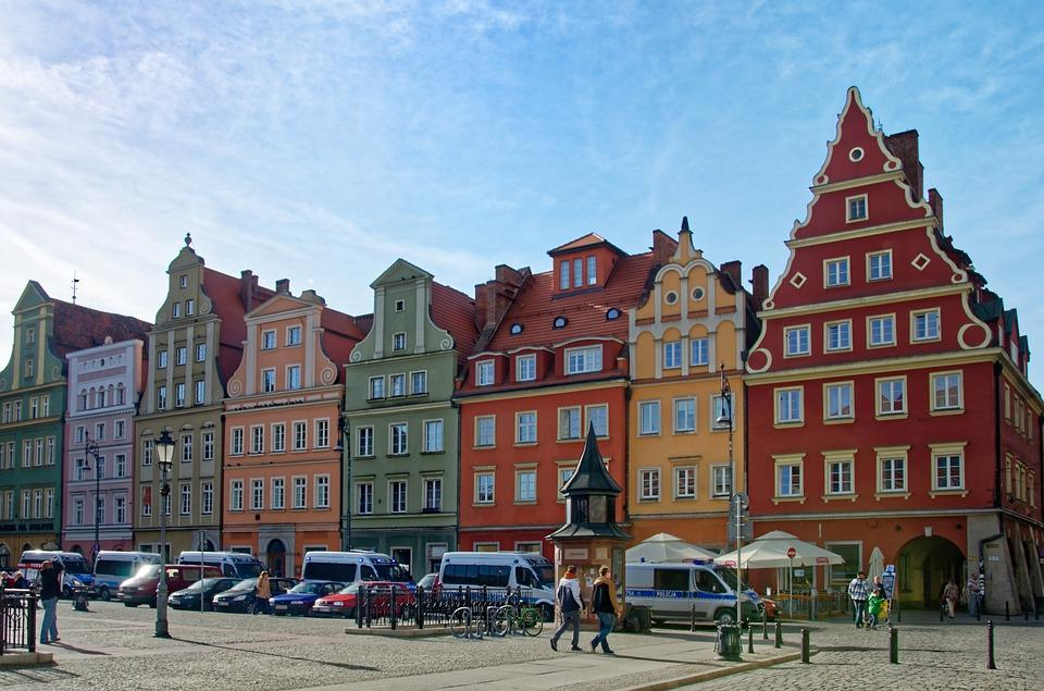 Polska, Śląsk, Wrocław, Historyczne Centrum