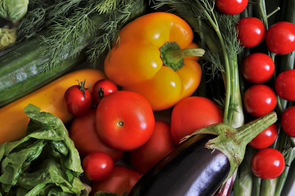 Sano, Verdure, Colorato, Cibo, Mangiare, Dieta