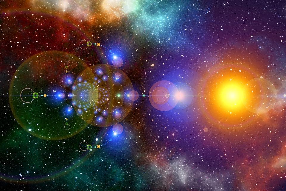 78 Gambar Abstrak Galaksi Terlihat Keren