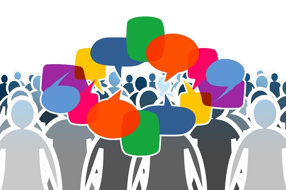 Medios De Comunicación Social, Multitud, Humanos