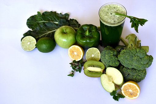 スムージー, 菜食主義者, 生, 青汁, 健康, フルーツ, 食品, ドリンク