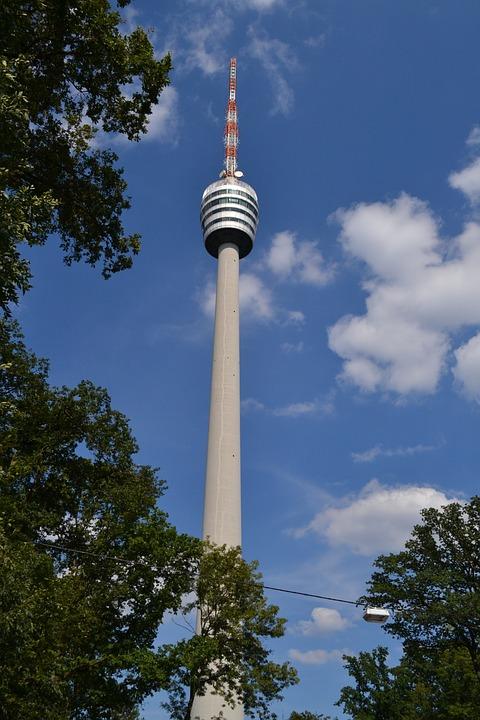 Stuttgart Tv Tower High Radio - Free photo on Pixabay