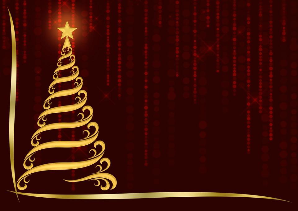 Weihnachtsbaum Verziert Design Kostenloses Bild Auf Pixabay