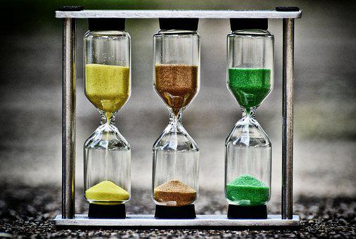 Hourglass, Time, Sand, Transience