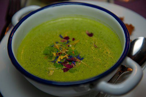 Chard, Swiss Chard Soup, Soup, Spinach