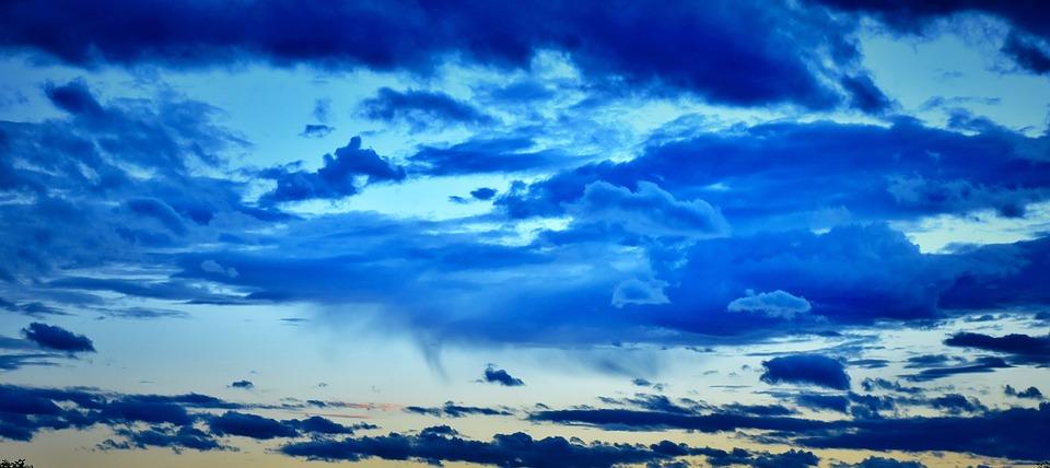 sky background blue free photo on pixabay