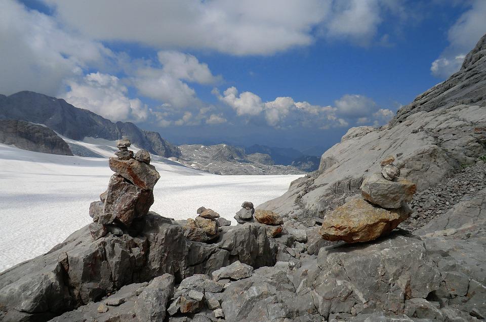 Gletscher Dachstein Gletscher Kostenloses Foto Auf Pixabay
